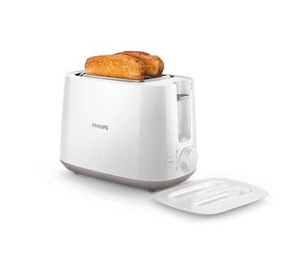 Philips Daily Collection HD2582/00 830-Watt 2-Slice Pop-up Toaster